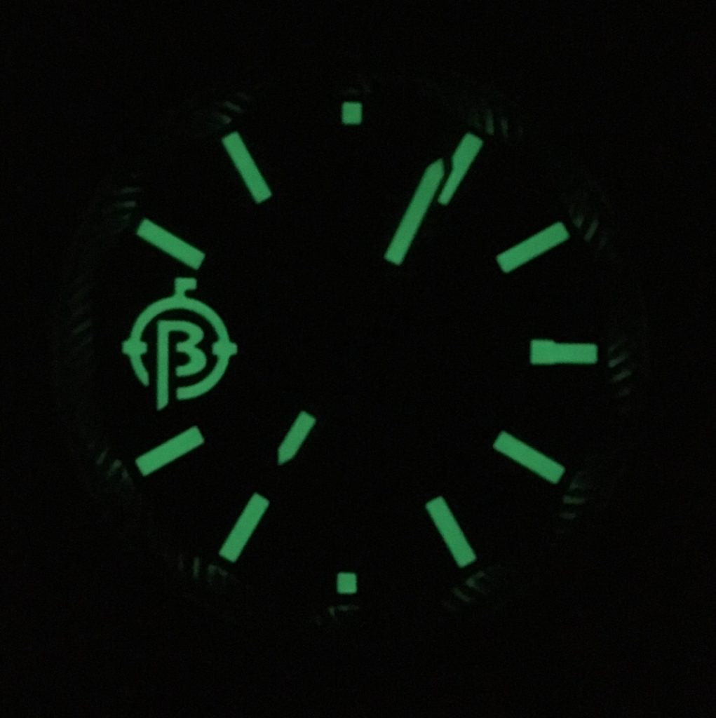Ballast 1903 Trafalgar Lume Shot Night