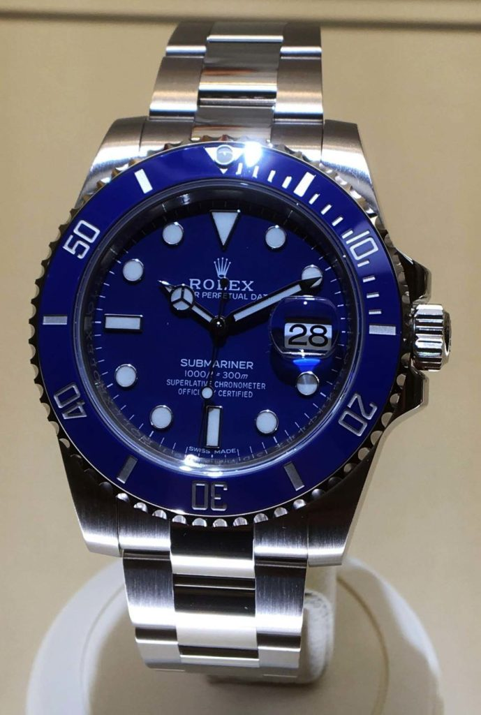 Blue Rolex Submariner Baselworld 2017