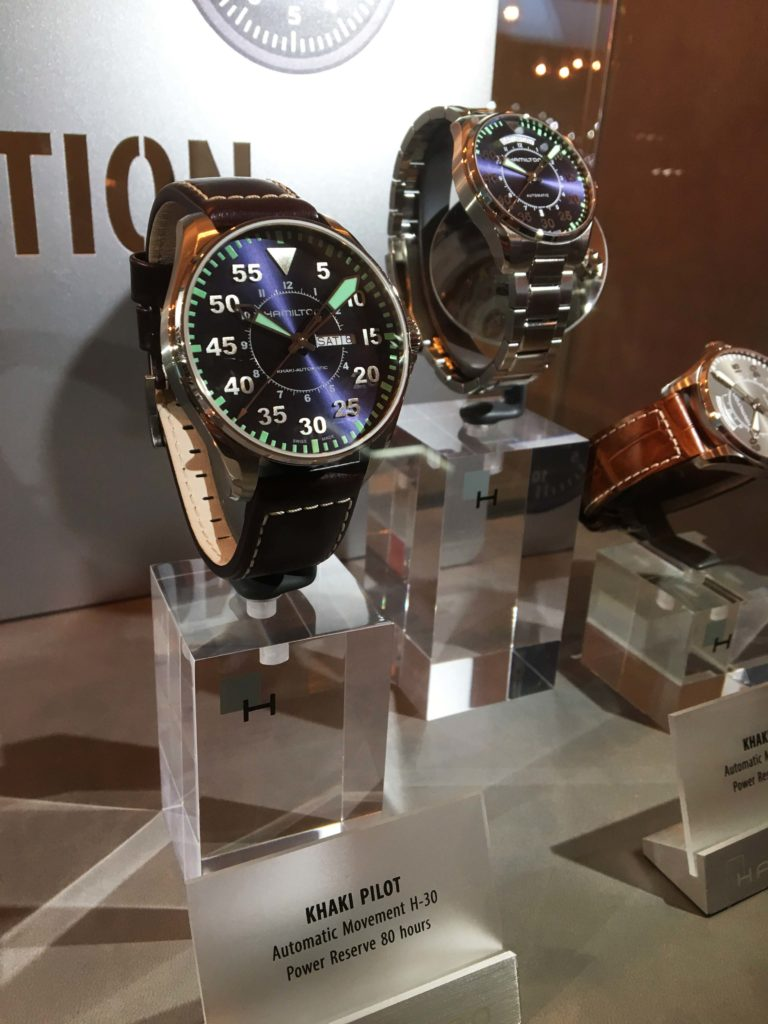 Swatch Rundgang Baselworld 2017 Hamilton Longines Omega Certina Tissot