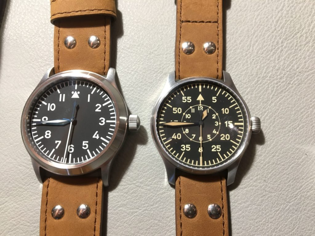 Stowa Beobachtungsuhr Vintage vs. normal