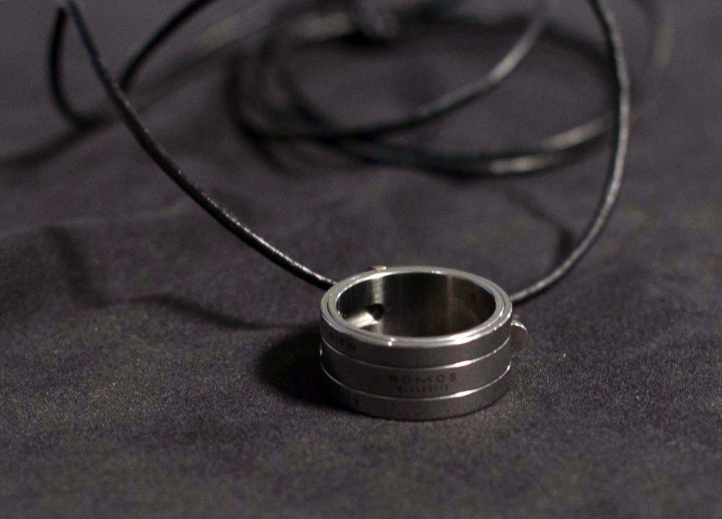 Nomos Glashütte Sonnenuhr Ring