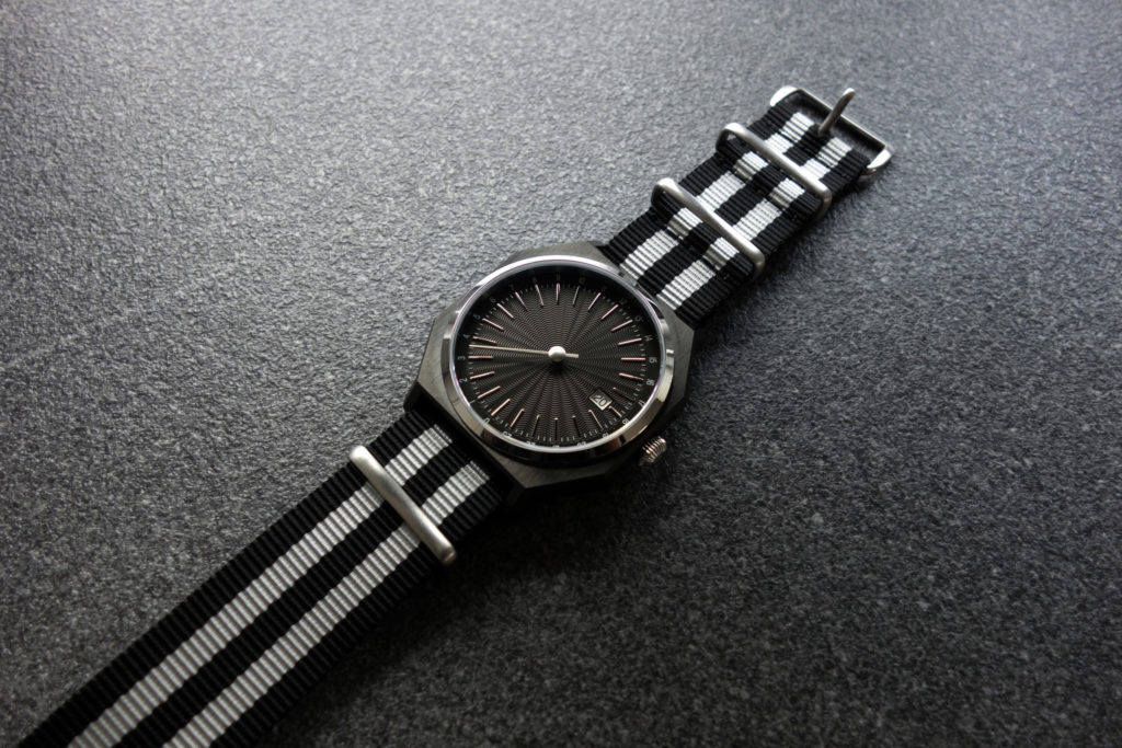 automatically slow 03 Bond NATO Strap Miros Time 4