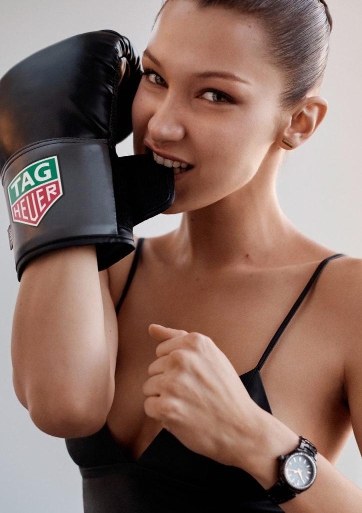 Bella Hadid TAG Heuer