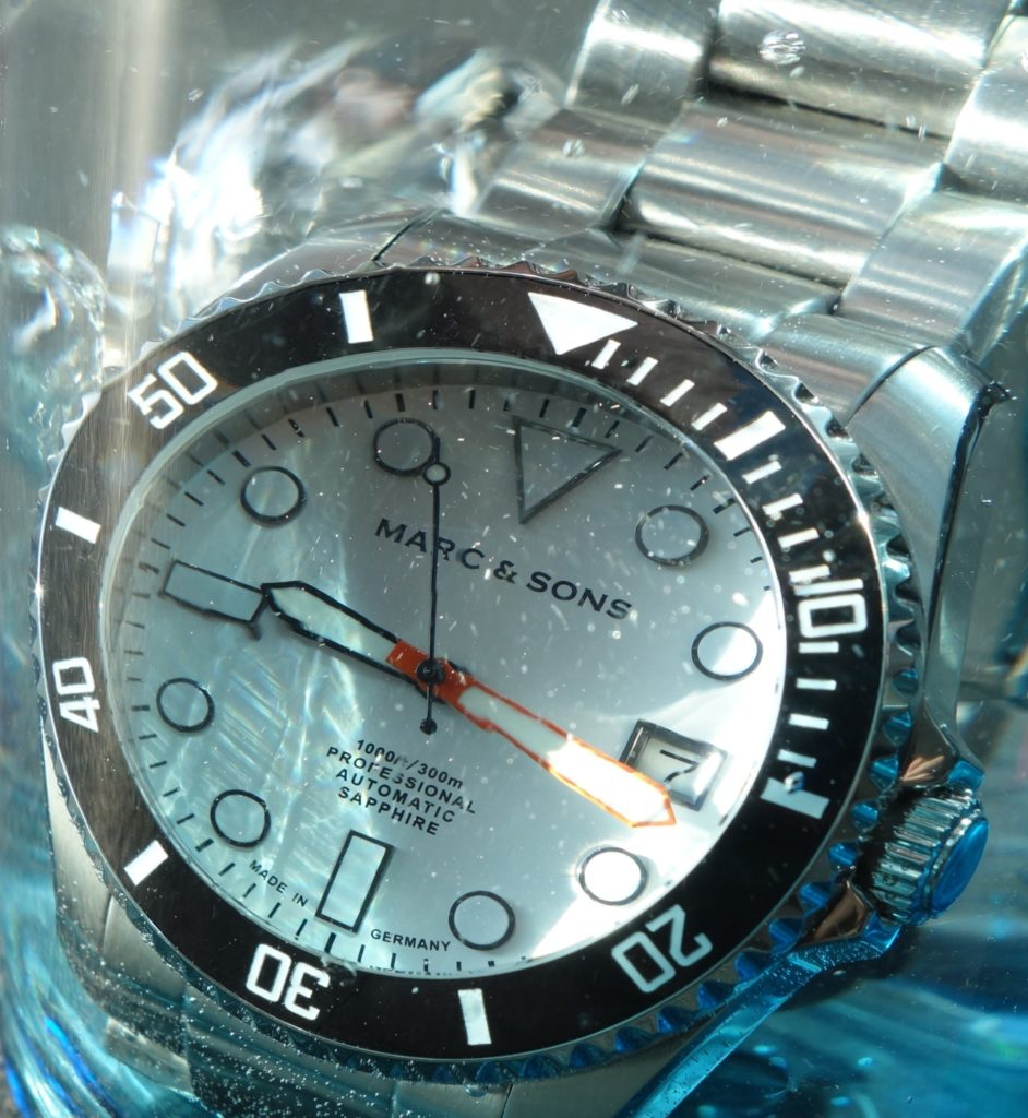 Marc & Sons Taucheruhr 300m wasserdicht