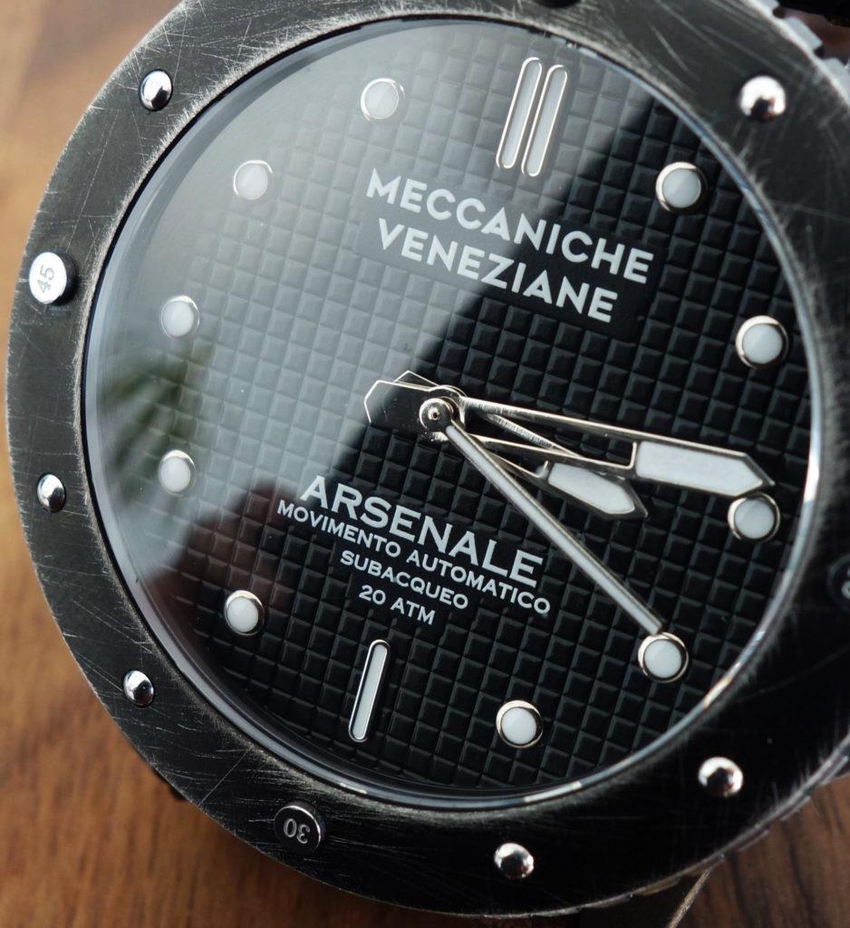 Meccaniche Veneziane Micro-Brand Waffel-Zifferblatt