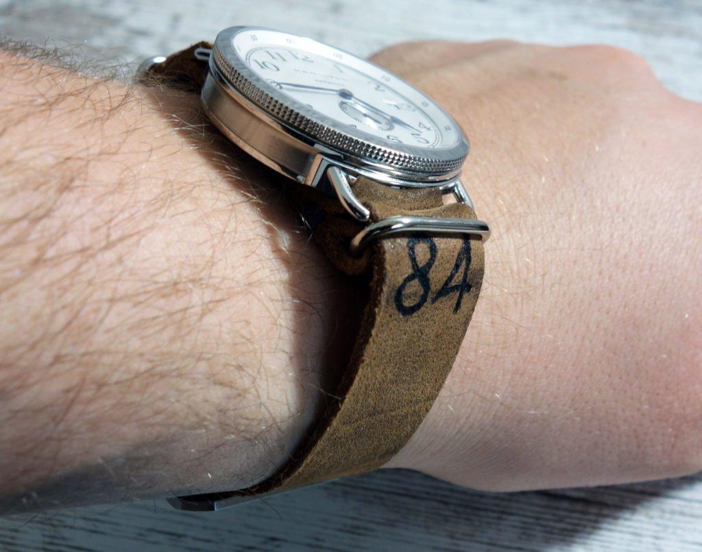NATO Leder Band Wrist Handgelenk