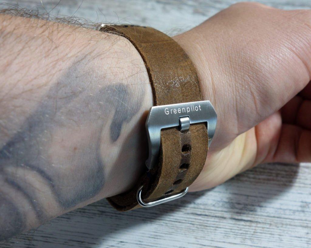 NATO Leder Band Wrist Handgelenk (3)