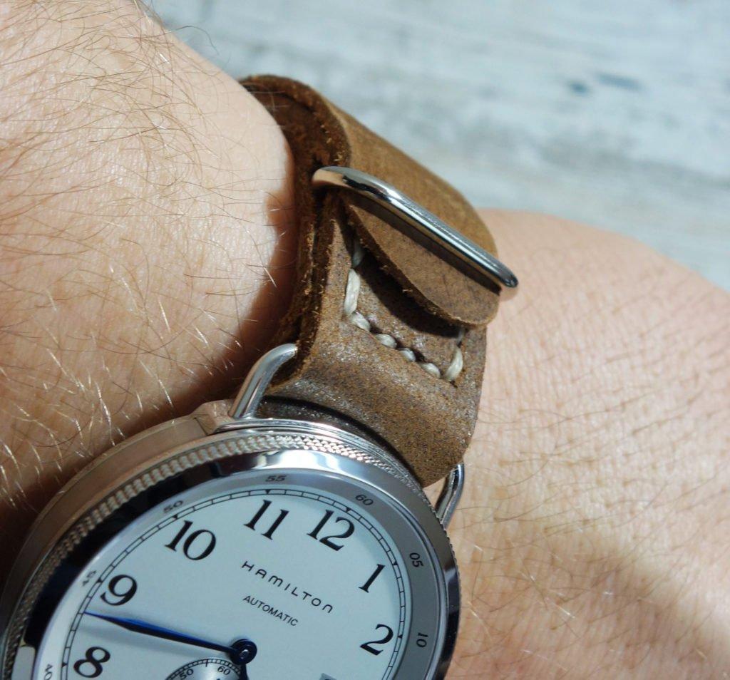 NATO Lederband handgefertigt umschlagen vermeiden (3)