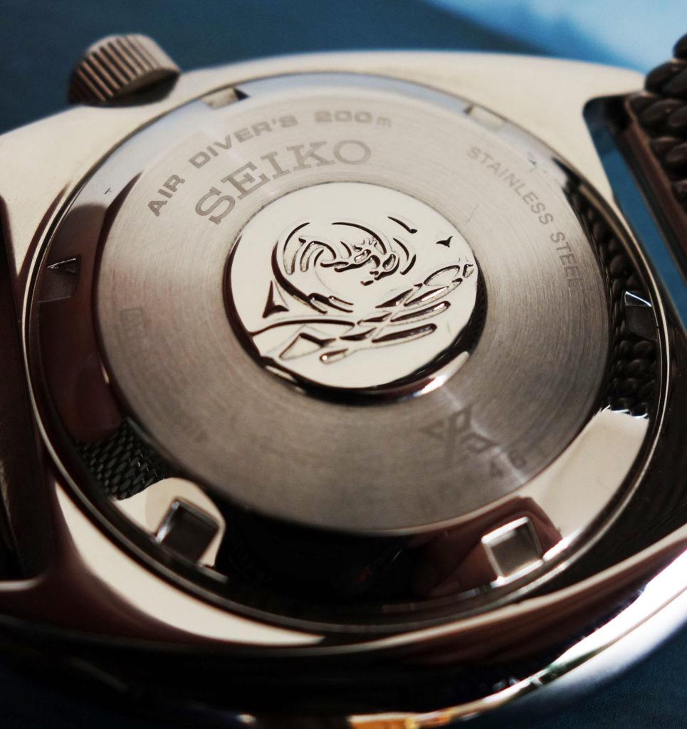 Seiko New Turtle 2016 Gehäuseboden