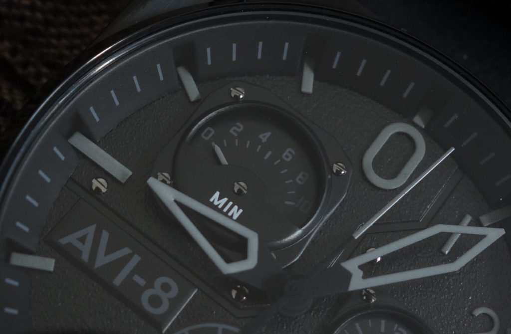 Cockpit Watch AVI-8 Hawker Hunter Black Chrono