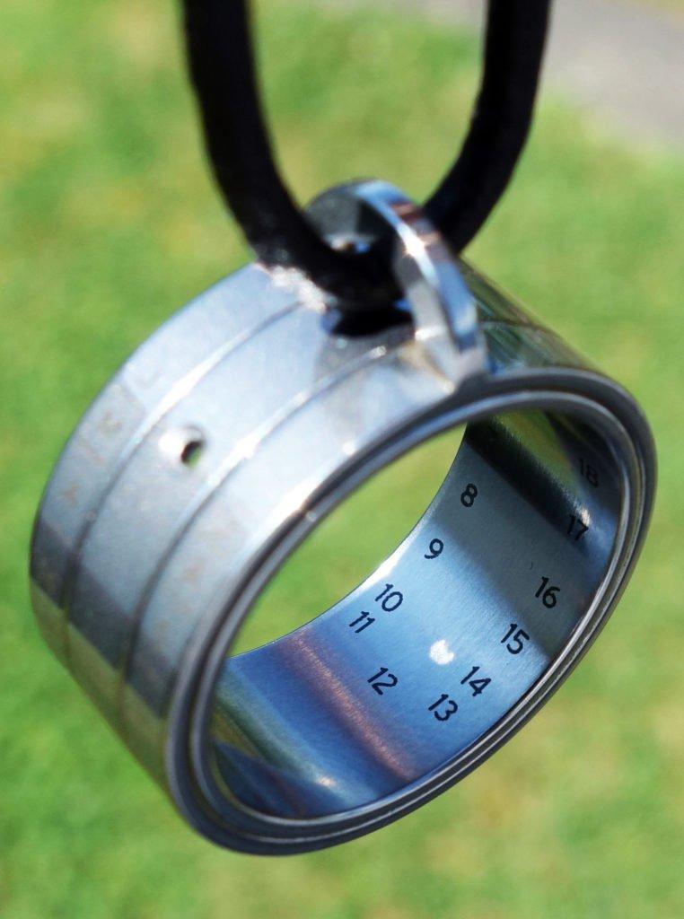 Bauernring Sonnenuhr Ring richtig ablesen NOMOS Glashütte