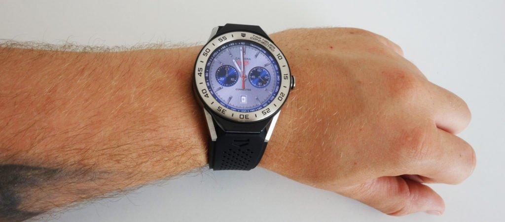 TAG Heuer Connected Größe Benchmark Vergleich Uhrengröße