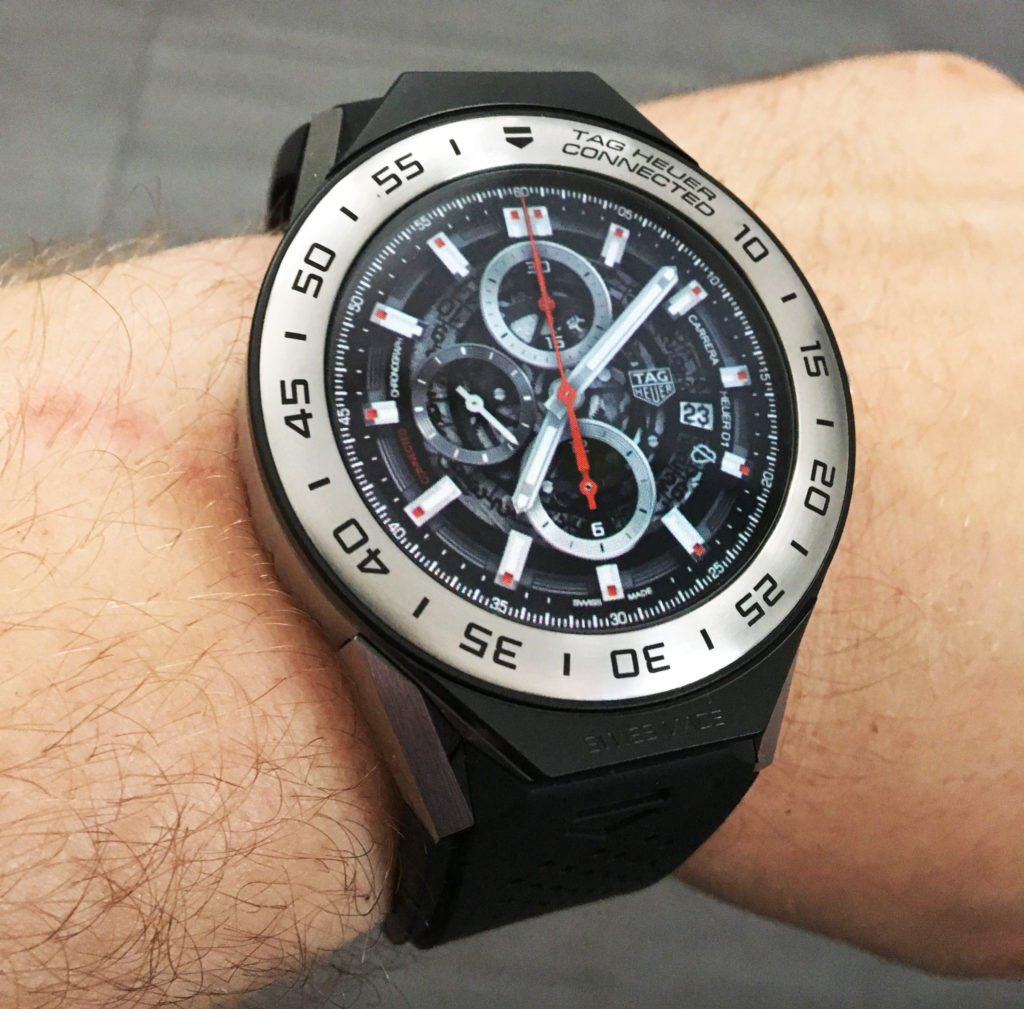 TAG Heuer Connected Modular 45 Android 2.0 Smartwatch with iPhone Wristshot