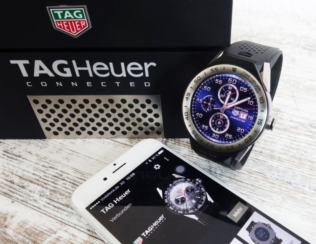 TAG Heuer Connected Modular 45 mit iPhone iOS Android Wear 2.0 -3