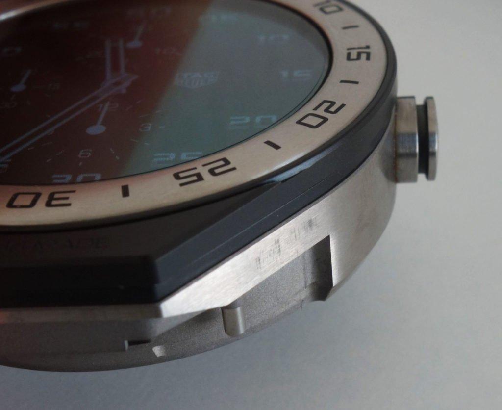 TAG Heuer Connected Modular modulares Bandwechselsystem Clip Drücker Kratzer Scratches