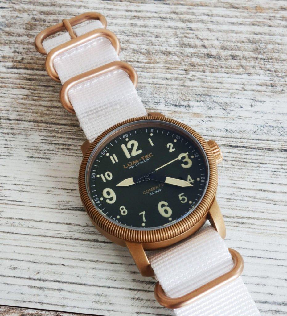 LÜM-TEC B19 Combat Bronze Military Uhr Bronze Zulu 2