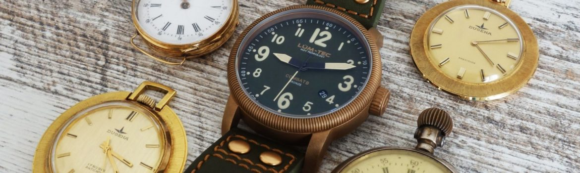 LÜM-TEC MDV Technology Vintage Bronze Watch (1)