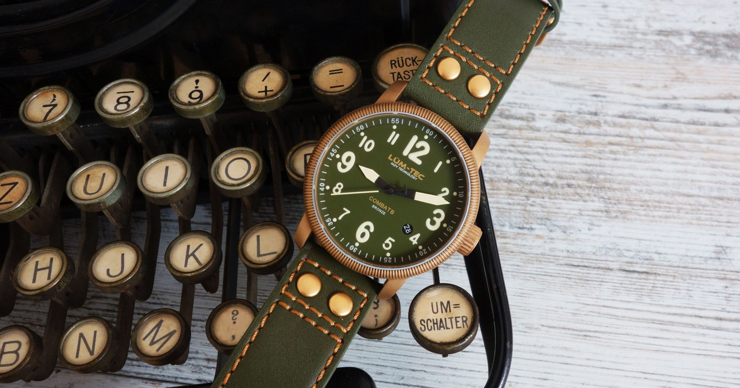 l m tec combat b19 bronze uhr im test lumen know how trifft vintage chrononautix. Black Bedroom Furniture Sets. Home Design Ideas