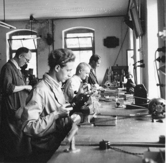 Mühle Glashütte Sachsen Alte Produktion um1950