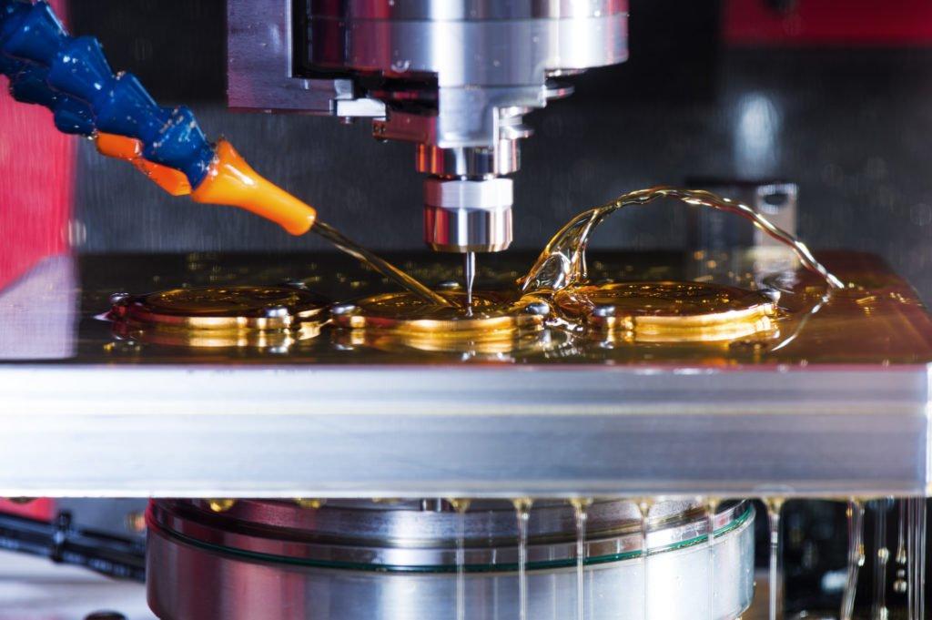 Mühle Glashütte Teilefertigung Werkzeugmaschine