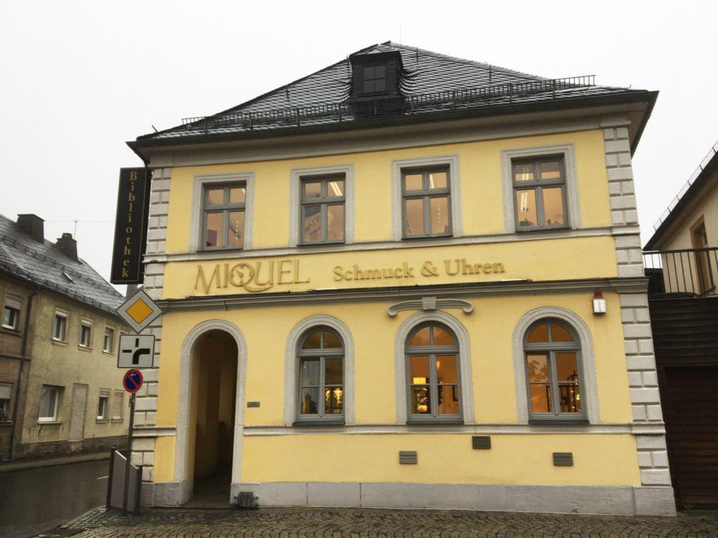Uhren Miquel in Teuschnitz Oberfranken
