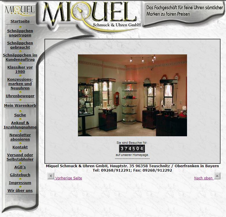 Uhren Miquel 2004