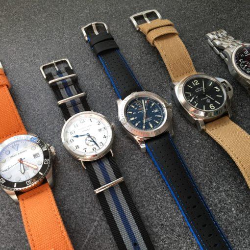 Uhrenarmbänder Sommer Orange