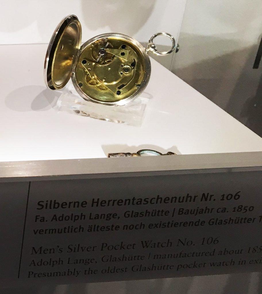Älteste Glashütter Taschenuhr 1850 Lange Söhne