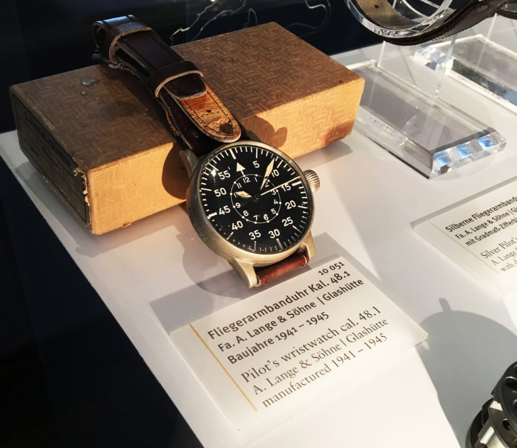 Flieger Beobachtungsuhr B-Muster Lange Söhne