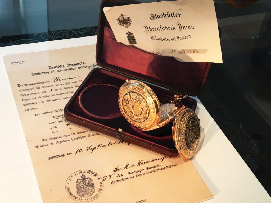 Glashütter Uhrenfabrik Union Taschenuhr