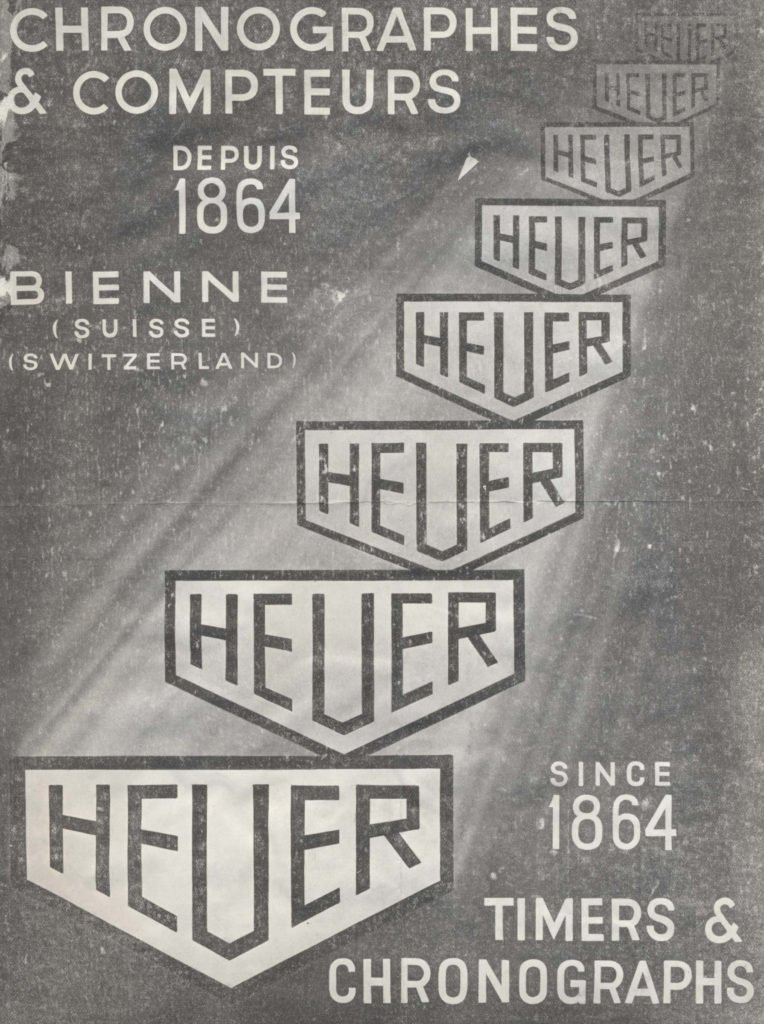 Advertising TAG Heuer Vintage 1864