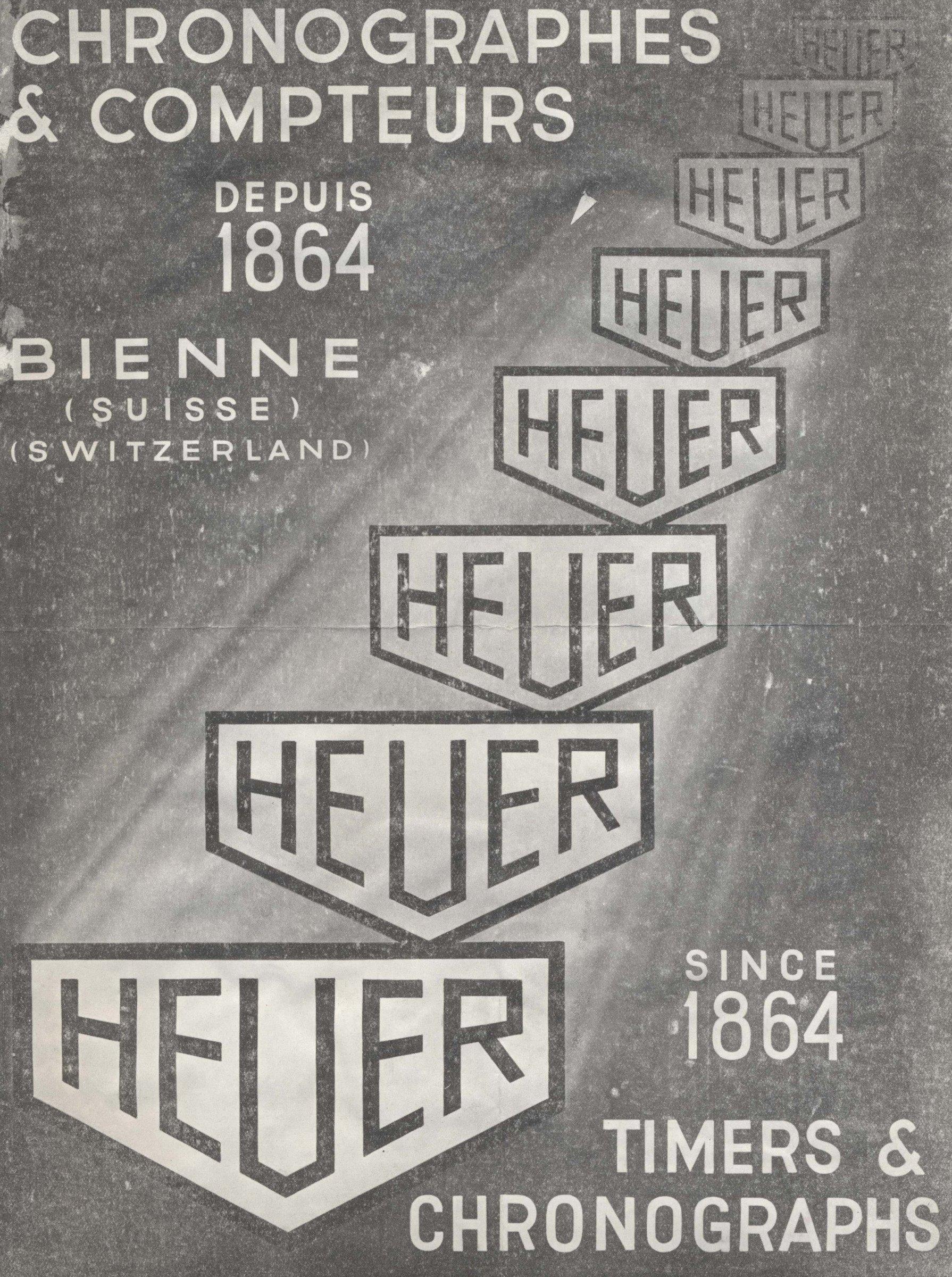 Advertising TAG Heuer Vintage 1864