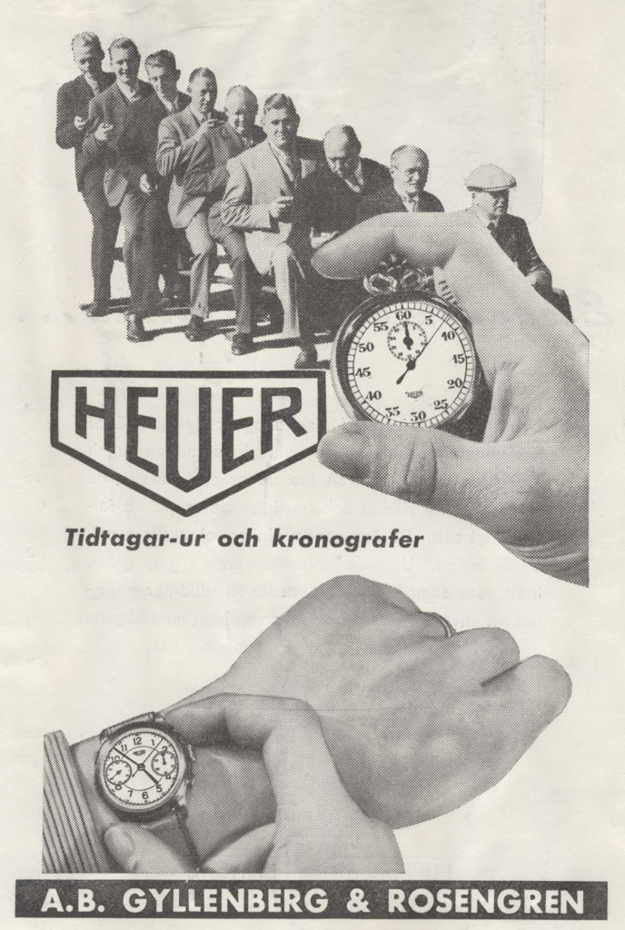 TAG Heuer Stop Watch Ad Vintage