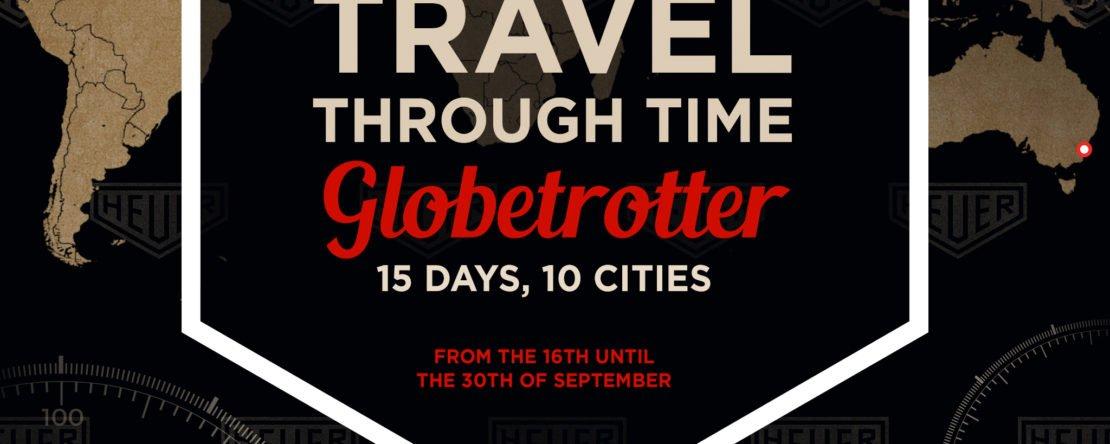 Heuer Globetrotter Ausstellung 2017 München
