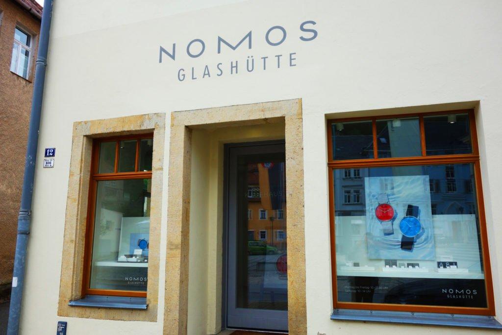 Nomos Glashütte Gebäude Sachsen 2017