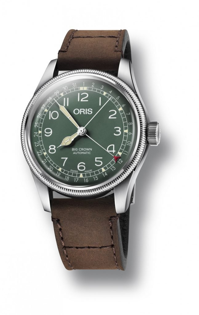 ORIS Big Crown D.26 286 HB-RAG Limited Leder