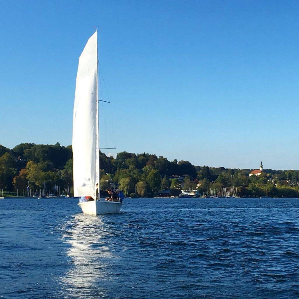 Segelboot Starnberger See