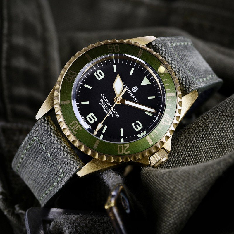 Steinhart OCEAN 1 Bronze Uhr Swiss Made
