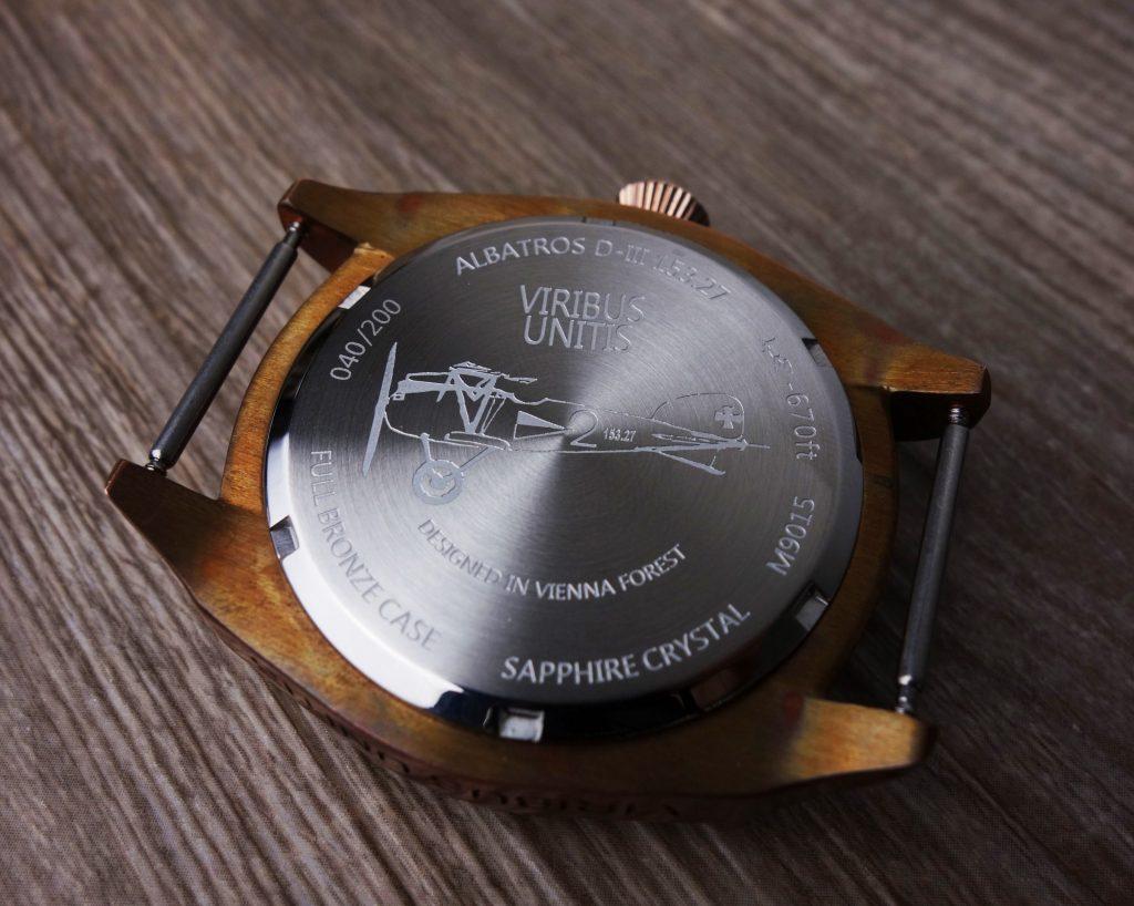 Viribus Unitis ALBATROSS D.III Boden