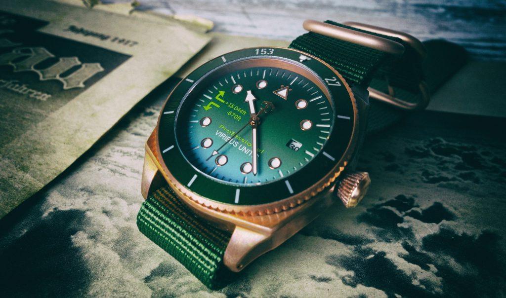 Viribus Unitis Bronze Watch Vintage