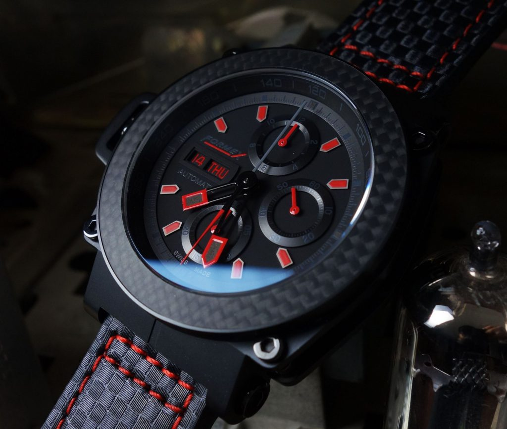 Chronograph Carbon Black
