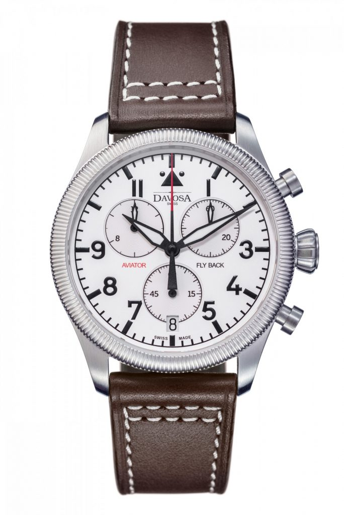 DAVOSA Aviator Quarz Flyback Chrono