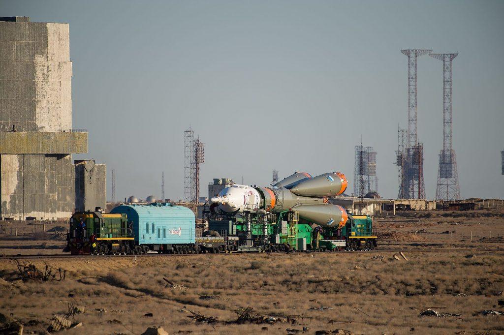 Soyuz MS-04 Rocket