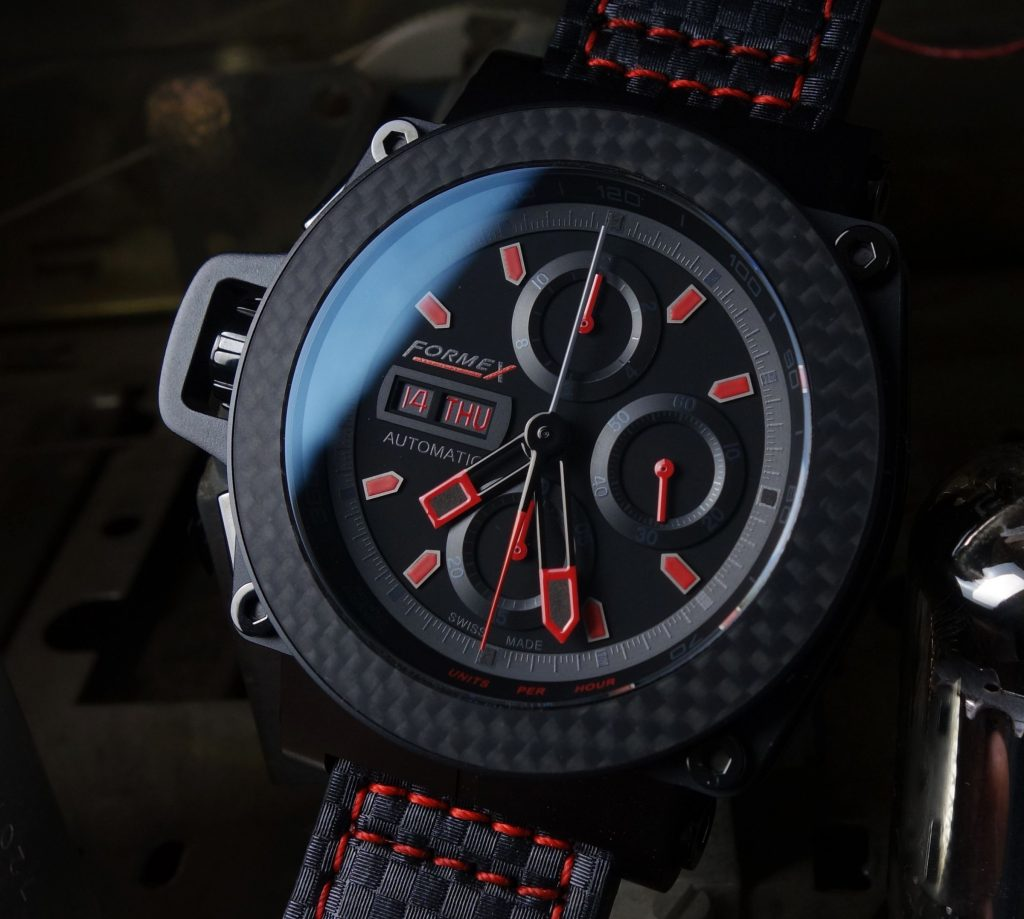 FORMEX Chronograph black red