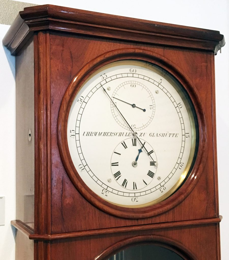 Historischer Regulator Uhrmacherschule Glashütte