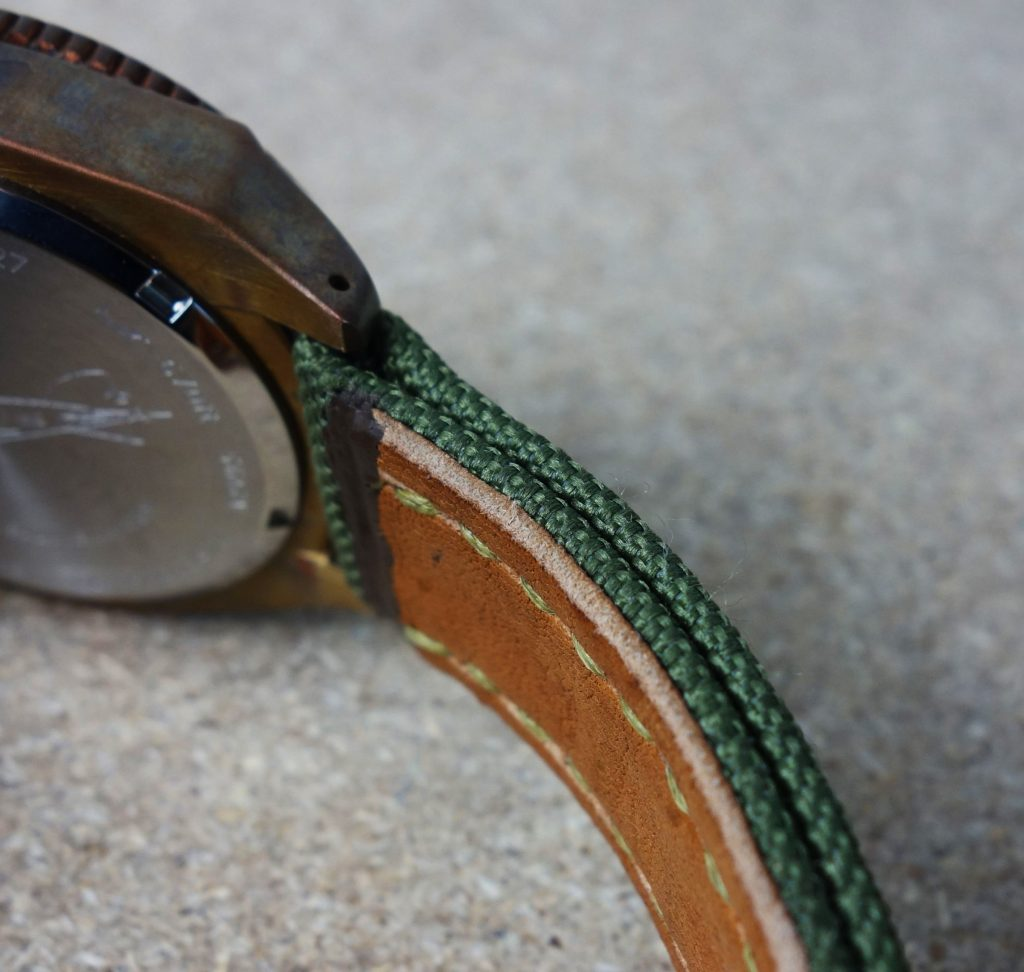 Textilband Militär Olivgrün
