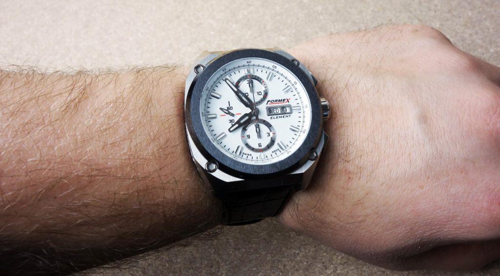 FORMEX Swiss Chrono Wrist Shot Size