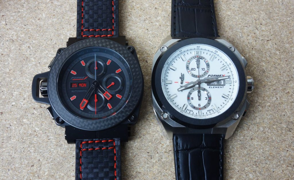 Formex Element vs. TS3100 Chronograph