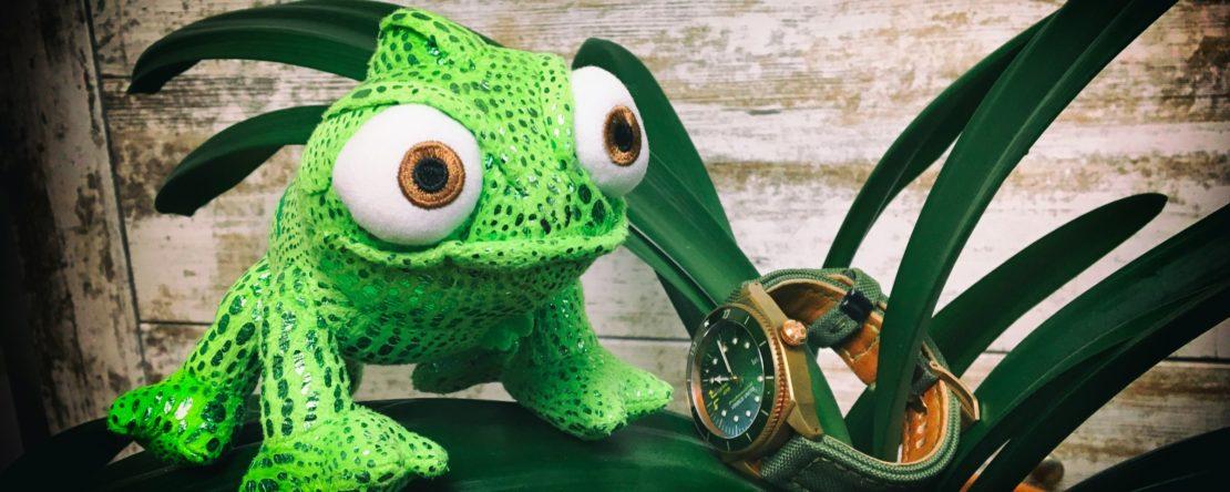 Reptilien Leder Bänder Uhr