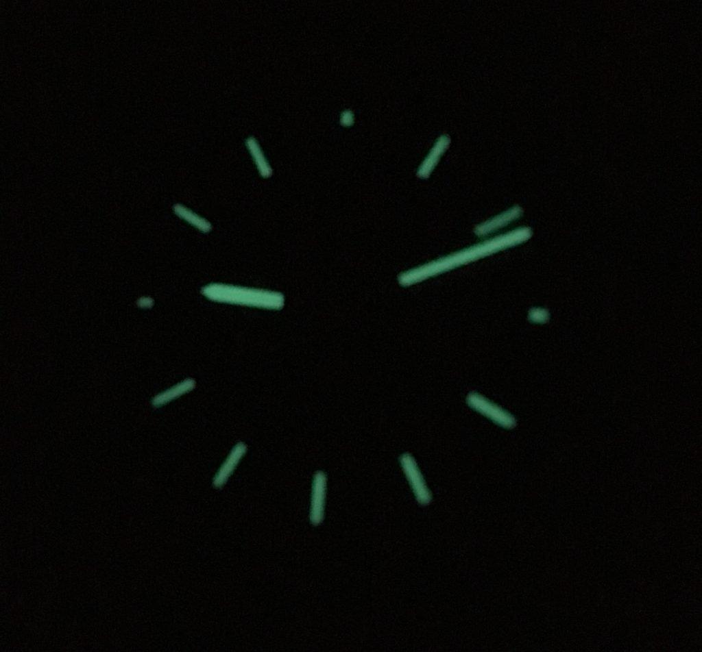 Super Luminova Nacht Werenbach Uhr